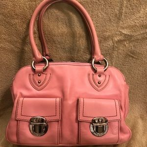 Marc Jacobs Pink Leather Satchel - Style: Blake